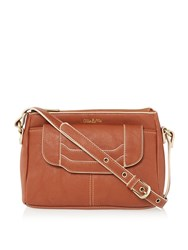Ollie And Nic Erin Medium Crossbody Bag Tan