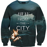 Aloha From Deer Away From City Sweater