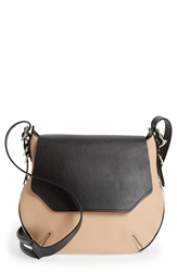 Rag And Bone 'Bradbury Small' Leather Hobo Nude