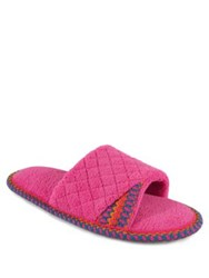 Muk Luks Quilted Slide Slippers Carribean