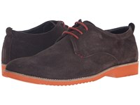 Lotus Camley Brown Suede Men's Lace Up Wing Tip Shoes