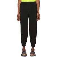Homme Plisse Issey Miyake Black Mc March Trousers