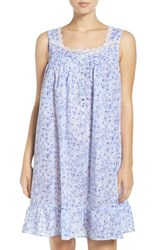 Eileen West Women's Print Cotton Chemise