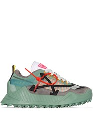 Off White Odsy 1000 Low Top Sneakers Green
