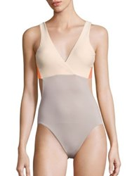 Basta Surf Aviones Reversible One Piece Swimsuit Taupe