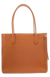 Lodis Cecily Rfid Leather Tote Brown Toffee