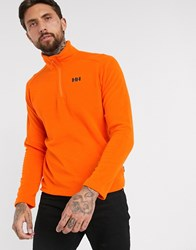 Helly Hansen Daybreaker 1 2 Zip Fleece In Orange