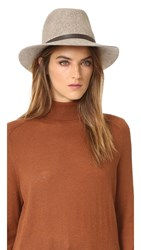 Rag And Bone Floppy Brim Fedora Brown Multi