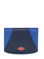 Ettore Bugatti Collection Two Tone Leather Wallet