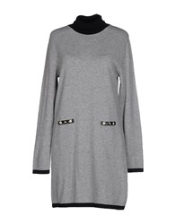 Roccobarocco Short Dresses Grey