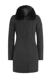 Peuterey Down Coat With Fox Fur Gr. It 38