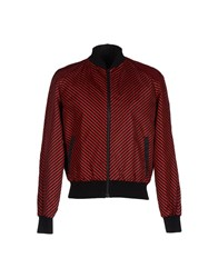 Jonathan Saunders Coats And Jackets Jackets Men Red