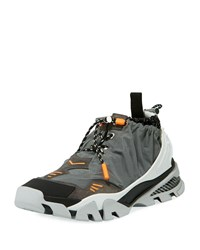 Calvin Klein Carsdat 8 Reflective Trainer Sneakers Charcoal