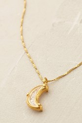 Catherine Weitzman Moonlight Necklace Gold