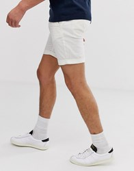 Selected Homme Linen Shorts In Sand Beige