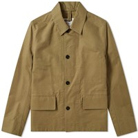 Mhl By Margaret Howell Flap Pocket Jacket Green