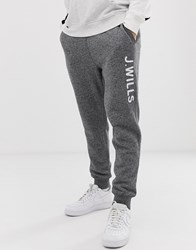 Jack Wills Birkenhead Sweat Joggers In Grey
