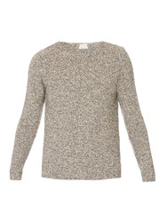 Paul Smith Scoop Neck Boucle Sweater