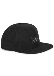 Crooks And Castles Black Embroidered Twill Cap