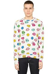 Au Jour Le Jour Lips Printed Cotton Sweatshirt