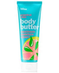 Bliss Pink Grapefruit And Aloe Body Butter 6.7 Oz.