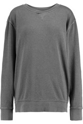 Current Elliott The Stadium Cotton Blend French Terry Sweatshirt
