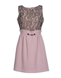 Lucky Lu Short Dresses Pink