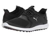 Puma Ignite Power Sport Black Silver Men's Golf Shoes
