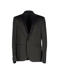 Patrizia Pepe Suits And Jackets Blazers Men Dark Green