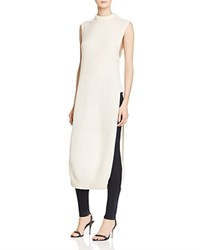 Alexander Wang T By Cashwool Mock Neck Tunic Ivory