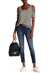 Kut From The Kloth Connie Frayed Ankle Skinny Jean Blue