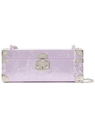 Luis Negri Large Bauletto Clutch Pink