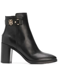 Tommy Hilfiger Ankle Length Boots Black
