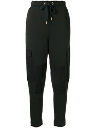 See By Chloe Cargo Track Pants Green
