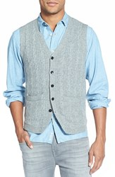 Men's J. Press York Street Regular Fit Cable Knit Vest