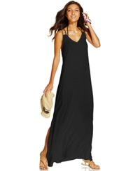 Raviya Laddder Back Maxi Dress Cover Up Women's Swimsuit Black