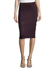 Rag And Bone Embellished Pull On Skirt Nightshade