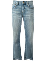 Current Elliott Straight Leg Jeans Blue