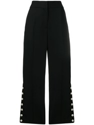Rag And Bone Tia Wide Leg Trousers Black