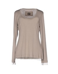 Caractere T Shirts Dove Grey