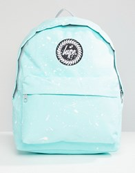 Hype Mint And White Speckle Backpack Mint White Green