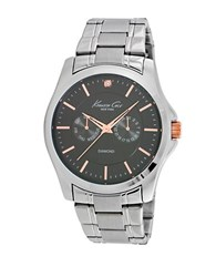 Kenneth Cole Rose Goldtone And Stainless Steel Watch Silver