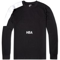 Hood By Air Long Sleeve Nihilism Tee Black