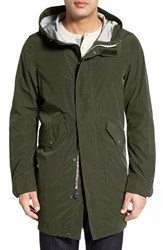Men's Spiewak 'Jfk' Water Resistant Hooded Fishtail Parka