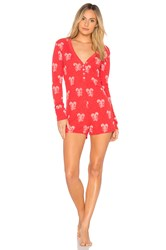 Wildfox Couture Sweet Treat Onesie Red