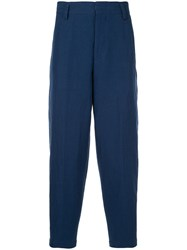 Tomorrowland Drop Crotch Trousers Blue