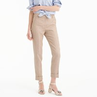 J.Crew Collection Rhodes Pant In Herringbone Linen