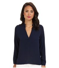 Brigitte Bailey Sophie Blouse Navy Women's Blouse