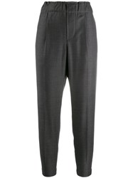 Brunello Cucinelli Pull Up Trousers Grey