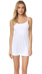 Commando Mini Cami Slip White